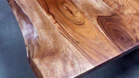 Esstisch Massiv Baumkante by Esstisch Kerala Massivholz Akazie 200x100 Cm Mit Baumkante