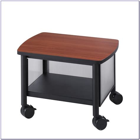 desk printer stands desk home design ideas