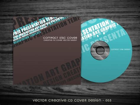 cd cover design vector modern cd cover design vector free download