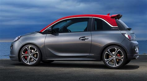 opel adam 2015 sporty opel adam s production model revealed