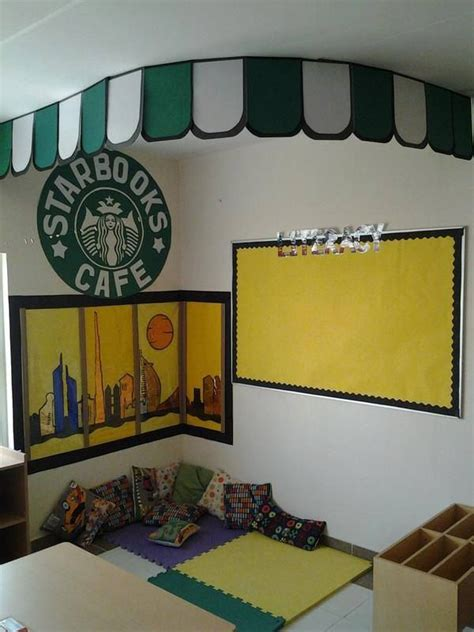 themes for book corners 18 best images about starbucks classroom on pinterest