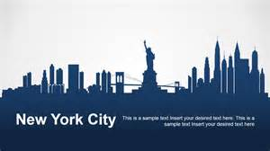 powerpoint templates new new york city powerpoint template slidemodel