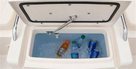 14 Mph Cooler Can Speed Away With Your Drinks by Grady White Freedom 215 Review Boat