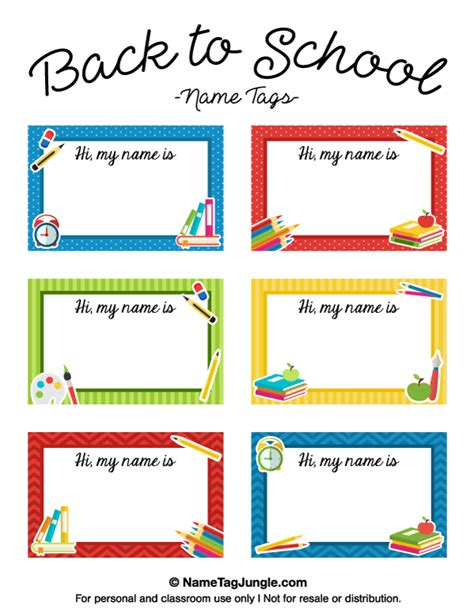 1st day card templates free printable back to school name tags the template can