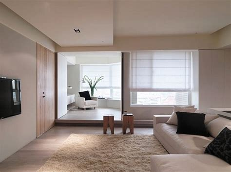minimalist apartments sophisticated asian apartment with neutral colors and
