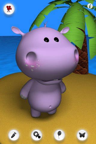 buy talking baby hippo application