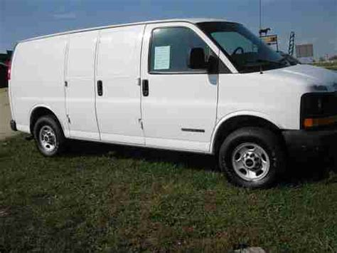 how cars run 2006 gmc savana cargo van transmission control purchase used 2006 gmc savana 3500 base extended cargo van 3 door 6 0l in west plains missouri