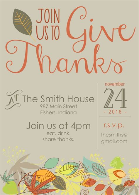 Thanksgiving Tip So Youve Invited A Vegetarian by Customizable Thanksgiving Invitation Free Printable