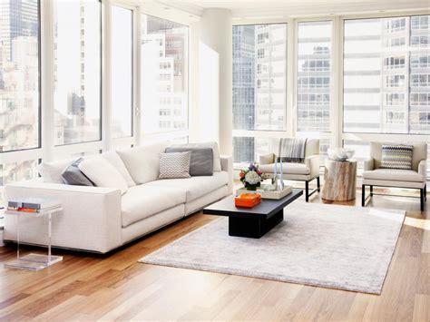 living room furniture nyc minimalist new york apartment tara benet hgtv