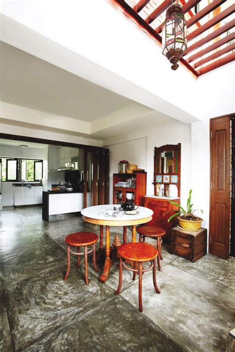 rustic charm home decor hdb maisonette with a rustic charm home decor singapore