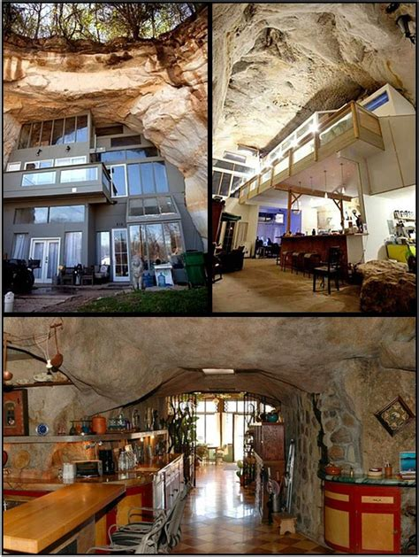Sleeper Family Cave House by This Cave Home In Festus Missouri Was Built In 2004 By