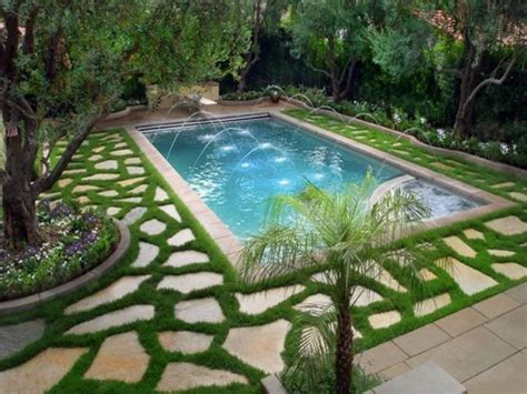 Backyard Pool And Hot Tub Ideas Backyards With Pools Pictures Of Backyards With Pools