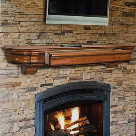 excellent fireplace mantel shelves the pearl mantels installing the pearl mantels shenandoah