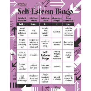 buy bingo game self esteem at s amp s worldwide