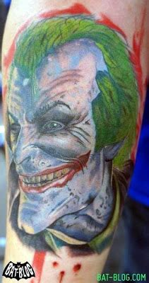 joker tattoo arkham city bat blog batman toys and collectibles march 2012