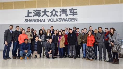 Hult Dual Degree Mba by Hult Shanghai Students Discover Key To Volkswagen S