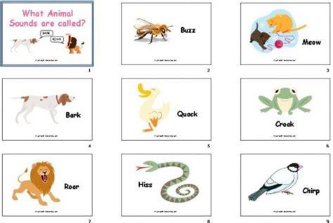 animal sounds diy flashcards 21 animal sounds