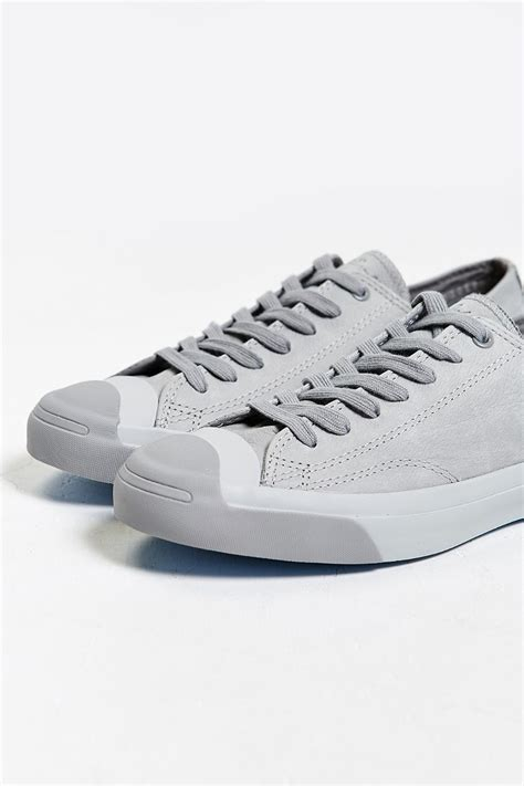Kaos Converse Grey Logo converse purcell nubuck low top sneaker in gray for