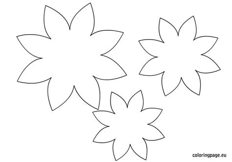 flower template to color loving printable 6 best images of flower coloring pages printable templates
