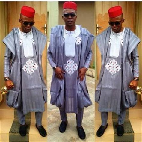 design of agbada with aso ofi clothing material native wear styles for guys with refined taste