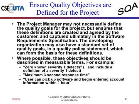 quality assurance objective statement quality assurance objective statement 28 images sales