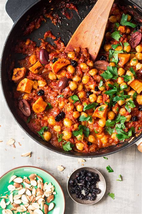 Moroccan chickpea stew   Lazy Cat Kitchen