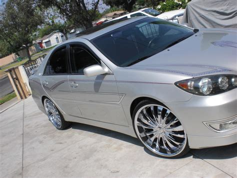 2005 toyota camry rims carlos714 2005 toyota camry specs photos modification