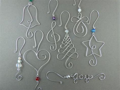 tree ornament hooks 25 unique wire ornaments ideas on diy
