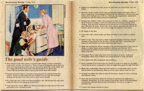 how to be a good wife to your husband hubpages how to be a good wife in the 1950s vintage everyday