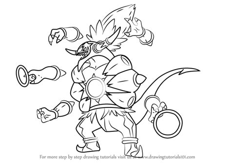 pokemon coloring pages hoopa learn how to draw hoopa unbound from pokemon pokemon