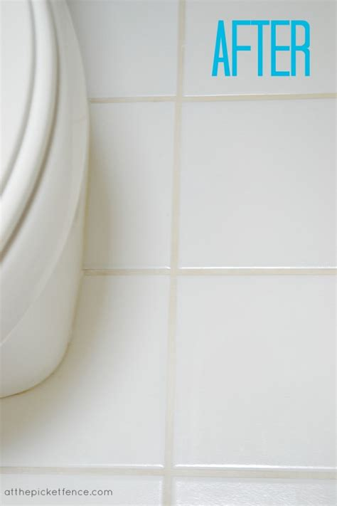 bathroom floor grout cleaner dirty little secrets at the picket fence