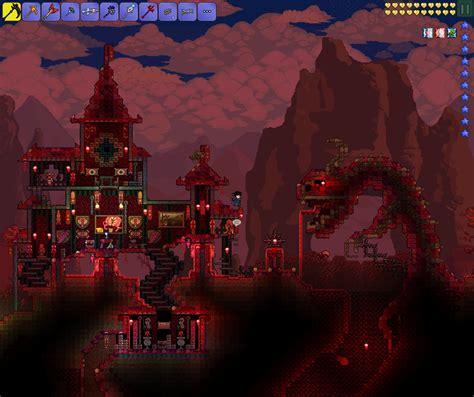 House Design Blueprints corrupt and crimson castles terraria community forums