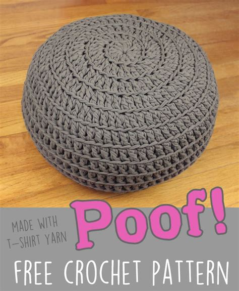 Pouf Ottoman Pattern by Free Crochet Pattern Poof Floor Pillow Pouf Ottoman