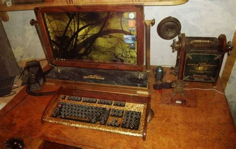 old fashioned computer desk old fashioned modern computers neatorama