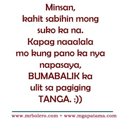 quotes about love tagalog patama patama quotes and tanga love tagalog quotes collections
