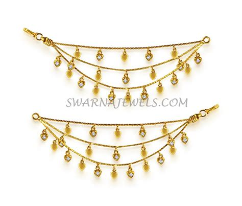 Wa Set Kalung Anting Gold Metal Chain gold chaswaralu wtrach1