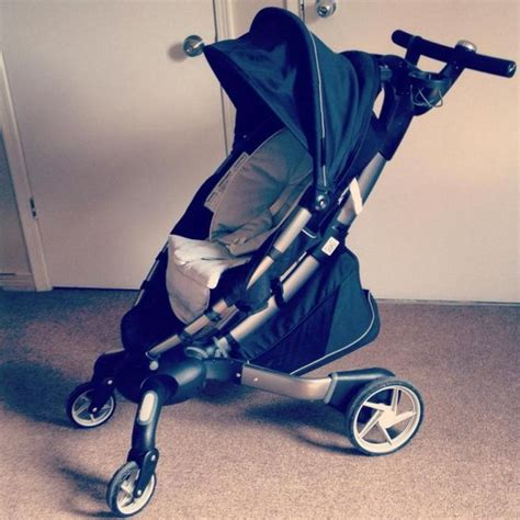 Origami Power Folding Stroller Silver - origami power folding stroller from global whole sales
