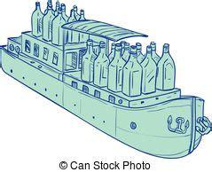 dessin bateau bouteille illustrations et clip art de p 233 niche 1 225 graphiques