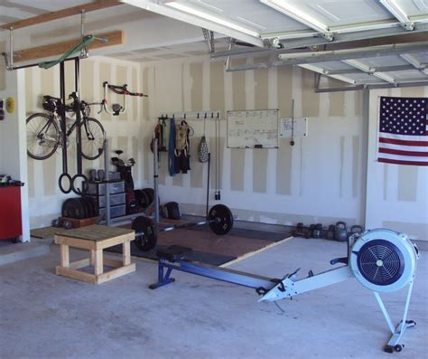 my new crossfit garage crossfitting