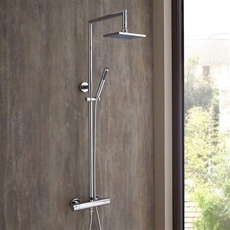 colonne doccia angolari colonna doccia termostatica completa con miscelatore