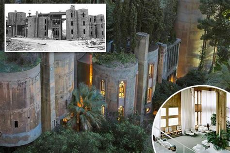 architect spends 45 years converting dilapidated world war one cement factory into his home