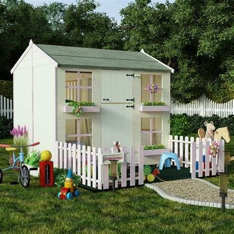 sale on 7x5 two storey playhouse with bunk billyoh mad
