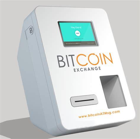 bitcoin machine singapore shopping mall debuts bitcoin atm draws