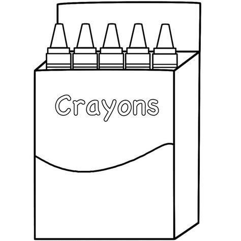 6 Best Images Of Printable Crayon Box Template Crayon Box Template Printable Crayon Box Printable Crayon Template