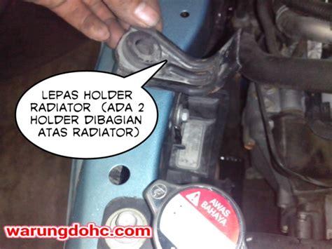 Selang Radiator Bawah Jazz Idsi Vtec diy tips bongkar radiator honda jazz vtec 2005 2007 azizyhoree s