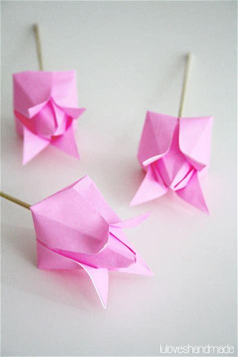 luloveshandmade happy easter handmade origami paper