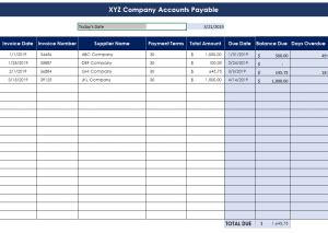 accounting spreadsheets  small business basic