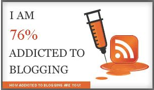 Addicted To Reading Journal test your blogging addiction