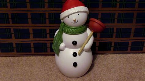 hallmark bathroom snowman hallmark bathroom snowman youtube