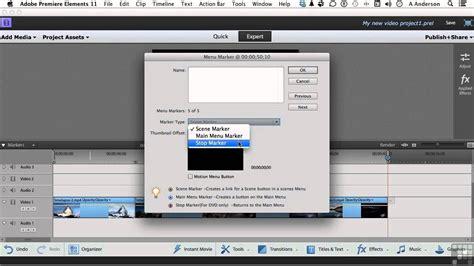 tutorial adobe premiere elements 11 adobe premiere elements 11 tutorial creating a dvd movie